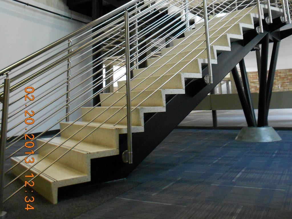 Precast Epoxy Terrazzo Treads & Risers Tiles