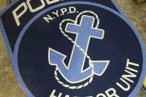 NYPD Logo Tile