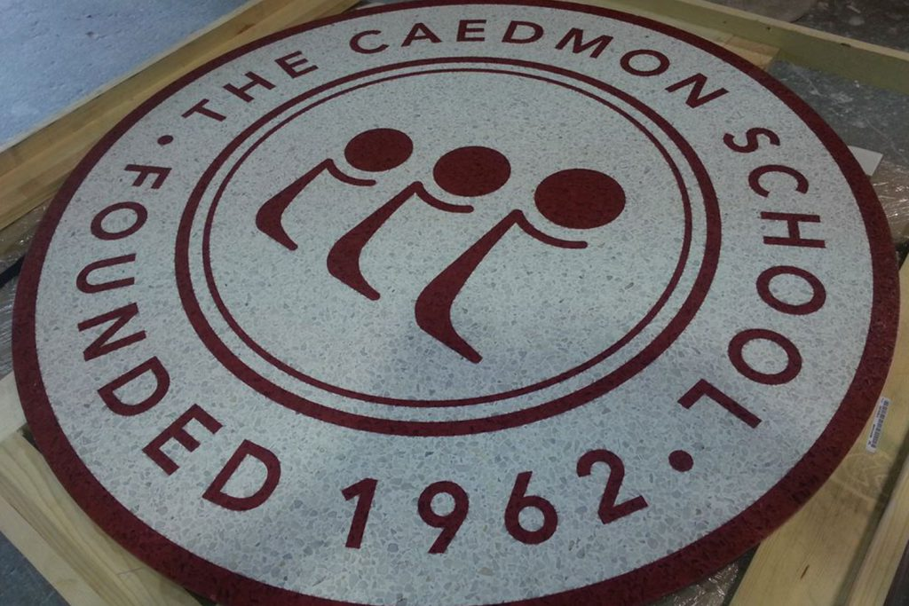 The Caedmon School Logo Tile