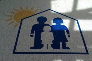 Precast Logo Tile