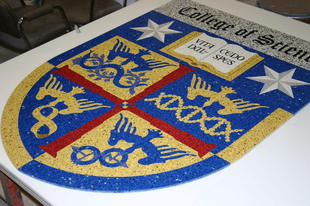 College of Sciem Logo Tile