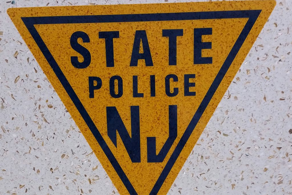 State Police - WATER JET LOGO