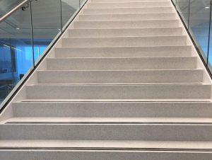 Precast Epoxy Terrazzo Risers Tile