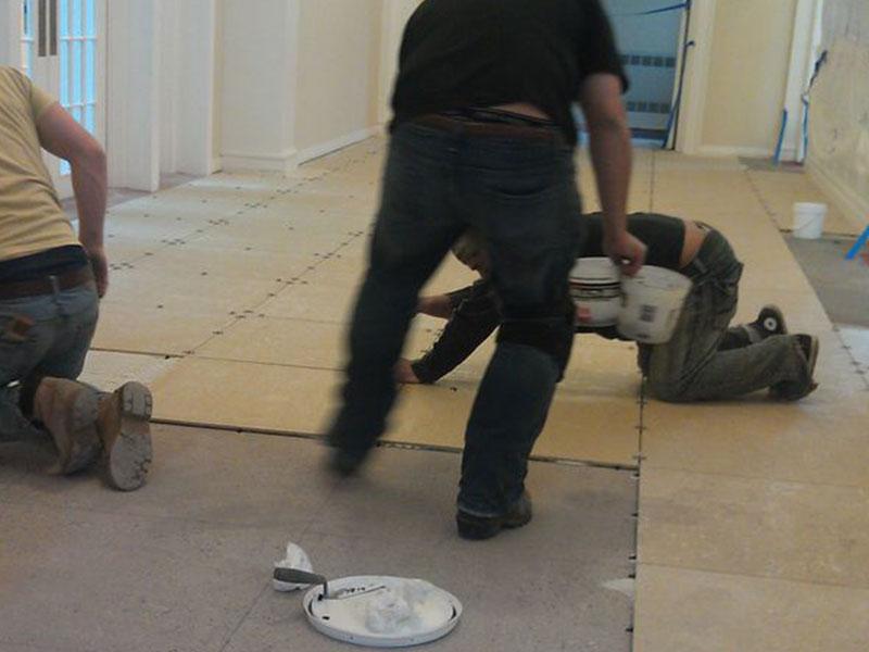 Terralite flooring tiles