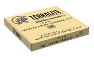 Terralite Premium Epoxy Terrazzo Tile
